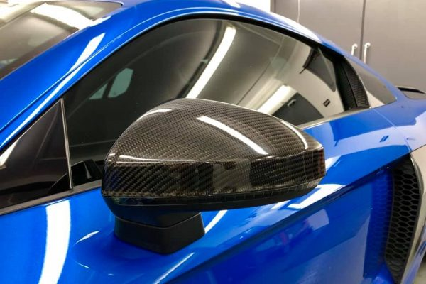 Audi R8 carbon mirrors on