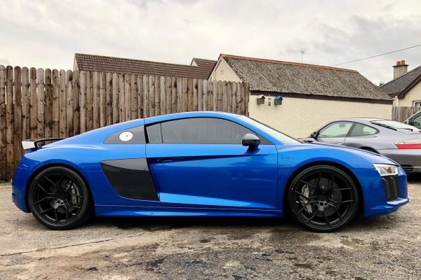 Audi R8 new wheels 2